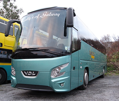 New coach for hire in Galway - 53 passengers
