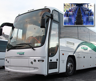 Standard Coach Hire in Galway